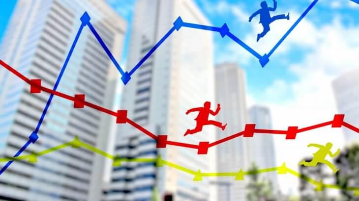仮想通貨投資 VS 株式投資、FX、投資信託、不動産投資の徹底比較